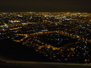 The night view was fantastic!