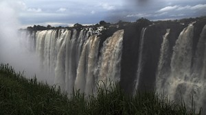 This is the view from the Zambia side looking left.
